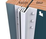 Secustrip Basic voor naar buitendraaiende deuren