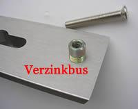 Schroefbus voor patentbout